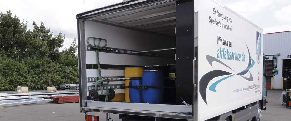NFK Süd GmbH Spezialfahrzeug für die Altfett Entsorgung