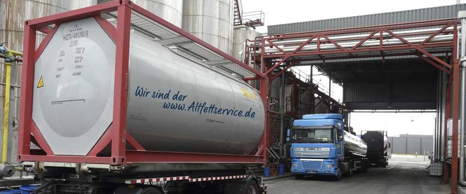 altfettservice.de Spezialbehälter für die Entsorgung von Altfett und Speiseölen